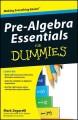 Go to record Pre-algebra essentials for dummies